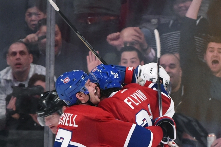 Canadiens scored all their goals in the second period [Getty Images]