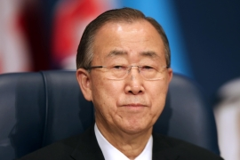 "UN chief Ban Ki-moon said that the Yarmouk camp is ""the deepest circle of hell"" in Syria's four-year civil war [AFP]"
