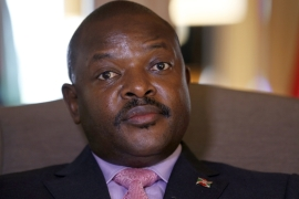 President Pierre Nkurunziza has not commented on whether he intends to run for a third term in office [AFP]