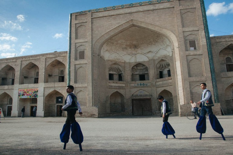 Bukhara was once the capital of one of the world's oldest and most isolated Jewish communities [Timur Karpov/Al Jazeera]