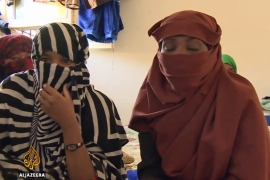 Rescued female migrants face uncertain future in Libya