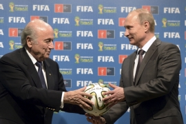 FIFA has confirmed that the 2018 World Cup will be held in Russia [EPA]