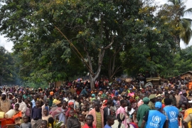 More than 105,000 Burundians have fled the country, with 70,000 crossing into Tanzania alone [UNHCR/T Winston Monboe]