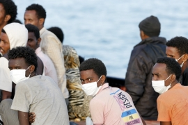 Overall, more than 40,400 migrants have arrived in Italy since the start of the year [Reuters]