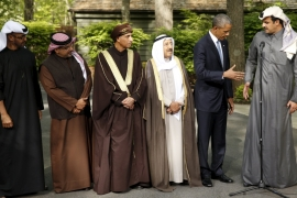 Obama to back Gulf allies against any 'external attack'