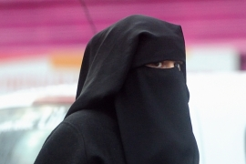 Unlike in France, the Dutch ban on face veils will be limited to schools, hospitals, and public transport [Getty]