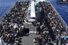 Italy rescues over 6,000 migrants from Mediterranean