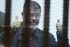 Former Egyptian president, Mohamed Morsi [Getty]