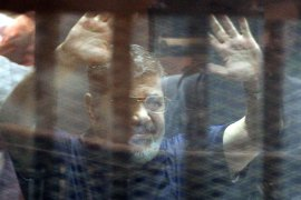 Egypt's ex-president Morsi sentenced to death