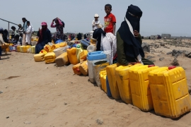 Yemenis are struggling to feed their families and basic services are collapsing in all regions [EPA]