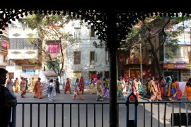 The sex workers in Sonagachi district are unionised and demand that their clients use protection [EPA]