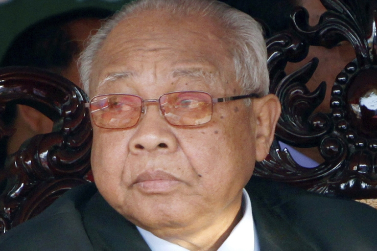 Senate President Chea Sim He had been in ill health for many years, and was in hospital for the past few months [AP]