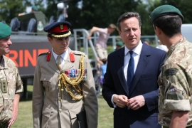 Cameron spoke days after at least British tourists were killed by a gunman at a beach in Tunisia [EPA]
