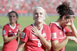 Record turnout at women's world cup opener