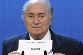 Qatar was cleared of any wrongdoing in the Garcia report, according to FIFA [Reuters]