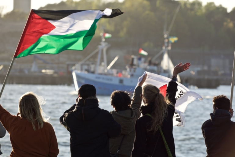 The Marianne of Gothenburg is preparing to set sail for Gaza [Joran Fagerlund]