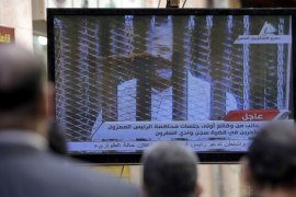 A court sentenced Morsi to death on May 17 for a mass prison break in 2011, prompting international condemnation [Reuters]
