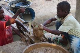 Many children suffer from respiratory problems and injuries due to the perilous work in the mines [Human Rights Watch]