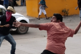 Violence looms over Mexico elections
