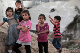 The Israeli siege on Gaza has devastated its economy and led to what the UN has called the 'de-development' of the territory [File: EPA]