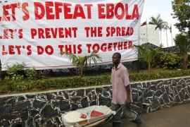 It has been almost two months since the country eradicated Ebola, the WHO said [EPA]
