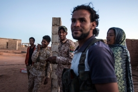 Tuareg youth have been hit hardest by Libya's violent chaos and skyrocketing unemployment [Mauricio Morales/Al Jazeera]