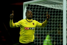 Ighalo scored 20 goals last season to help Watford get promoted [Getty Images]