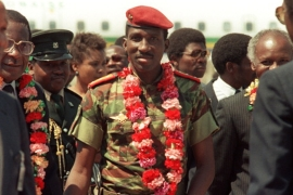 Thomas Sankara led his country from 1983 until his killing in a 1987 coup [File: Getty]