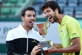 The French Open title was the pair's maiden Grand Slam [Getty Images]