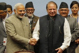 Sharif attended Modi's inauguration ceremony in India last year [EPA]