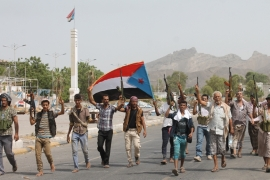 On Wednesday, Popular Resistance fighters recaptured much of Aden from Houthi rebels [AFP/Getty Image