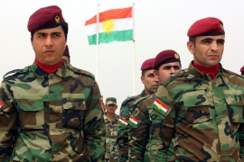 Kurds have relied heavily on the US-led coalition's air support and military assistance [EPA]