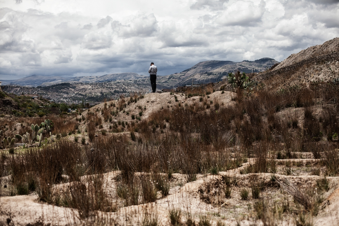 Hundreds of bodies were unearthed at La Hoyada, on the outskirts of Ayacucho. [Nadia Shira Cohen/ICRC]