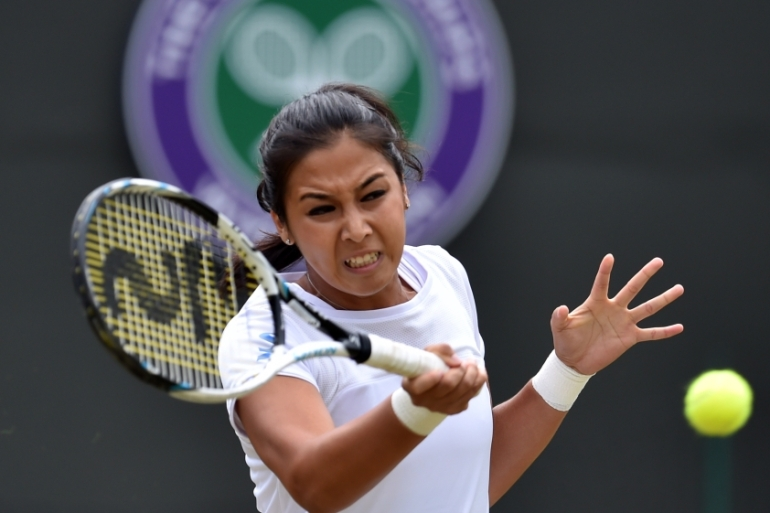 Diyas had reached the fourth round at Wimbledon last year as well [Getty Images]