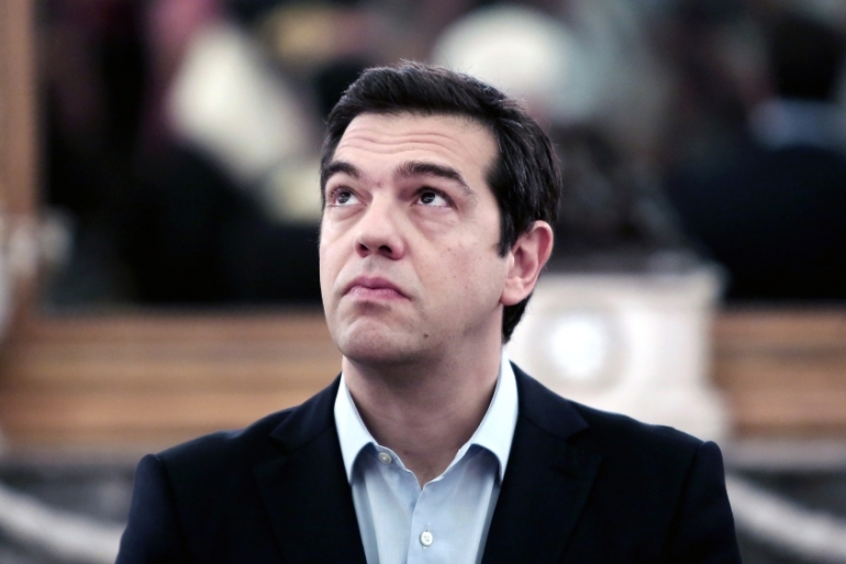 Tsipras faced a party rebellion over a bailout vote in parliament last week [AFP]
