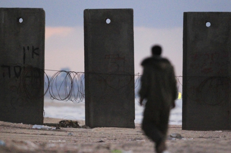 Zikim beach on the border with Gaza is where one of the missing Israelis is believed to have been just before his disappearance [File: Reuters]