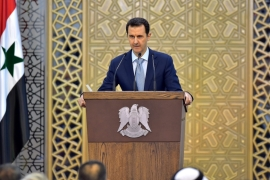 Syria's Assad admits his army's troubles