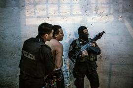 El Salvador's murder rate: a record high