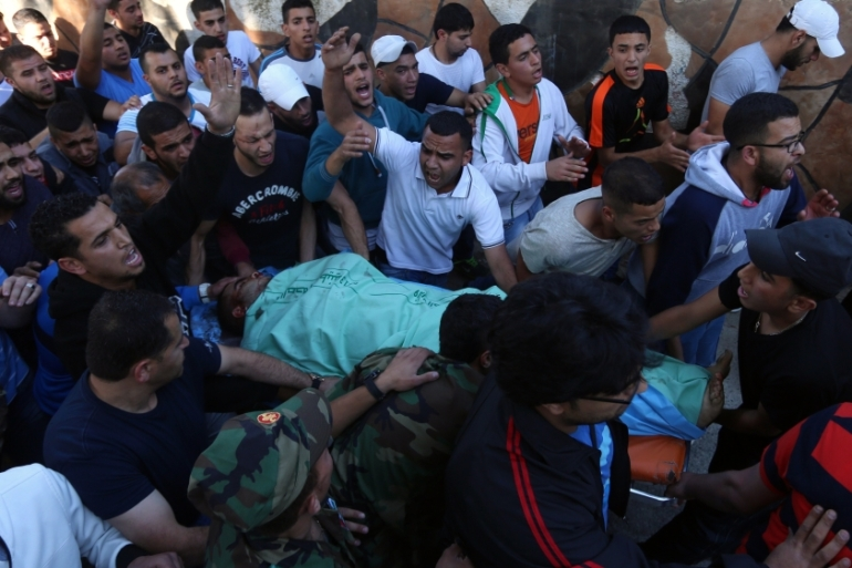 Witnesses said Israeli soldiers did not call for medical help after the shooting [AFP]