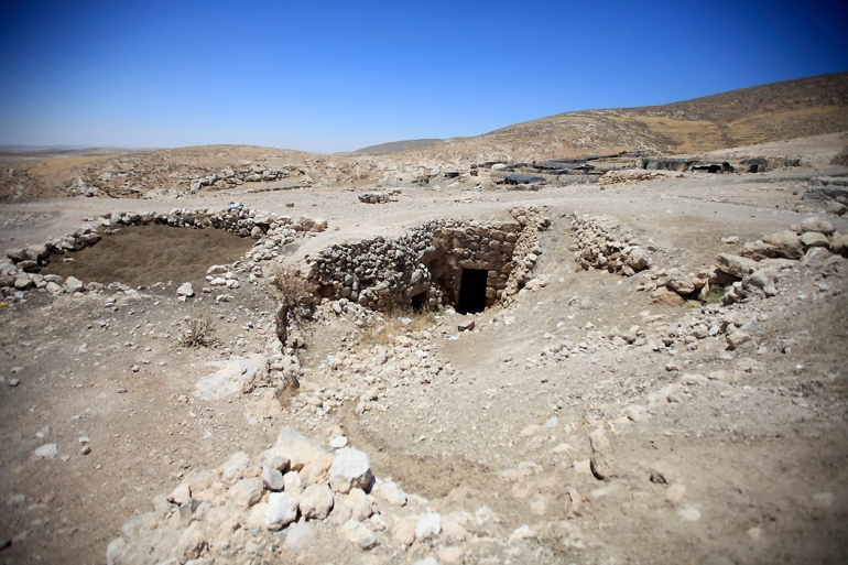 The cave culture is an ecological adaptation of the aboriginal nomadic settlers to the geography of Palestine, as caves provided an ideal refuge against the numerous armies and tribes that swept the land. [Eloise Bollack/Al Jazeera]