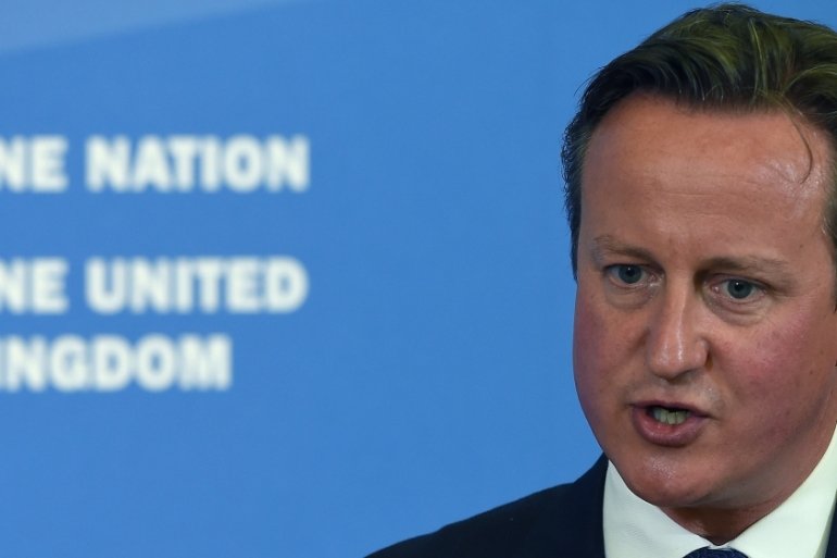 Cameron says opposition to fundamental liberal values provides a gateway to groups like ISIL [Getty]
