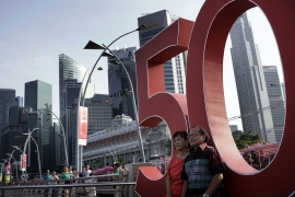 Singapore marks 50th birthday with grand celebrations