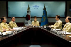 High-level officials from two Koreas meet at border
