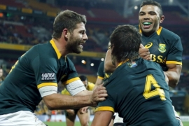 Race debate resurfaces as S Africa picks rugby squad