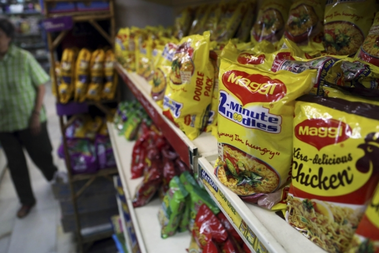 The ruling came a day after India said it was seeking damages of nearly $100m from Nestle India for 'unfair trade practices'  [AP]