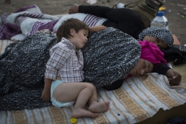 Hungary, Slovakia, the Czech Republic and Poland seek to block the influx of the refugees [AP]