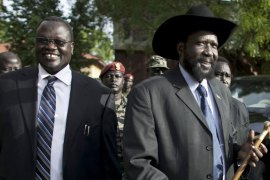 South Sudan descended into chaos in 2013 when a political row between Kiir and Machar spiralled into armed conflict [AP]