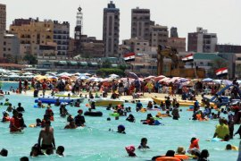 In Egypt's capital, Cairo, temperatures reached 42C on Sunday [EPA]