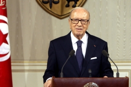 President Beji Caid Essebsi, who held high-ranking government positions under the former regime, has spoken of his intent to initiate reconciliations for economic crimes [AP]