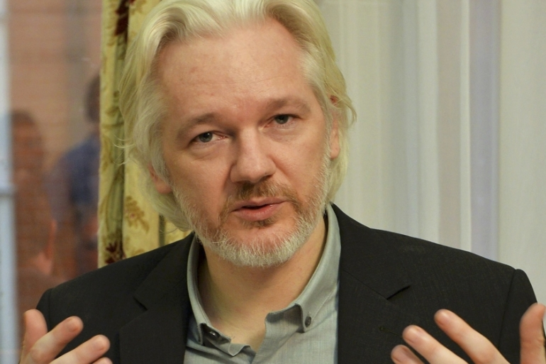 Assange, who is Australian, entered the Ecuadorian embassy in London in 2012 to avoid being extradited to Sweden [Reuters]